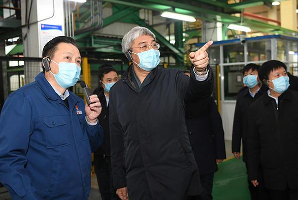尹弘在平顶山许昌调研时强调 统筹抓好疫情防控和经济社会发展