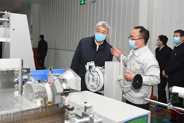 尹弘在安阳检查指导工作时强调 确保疫情防控和经济社会发展统筹推进