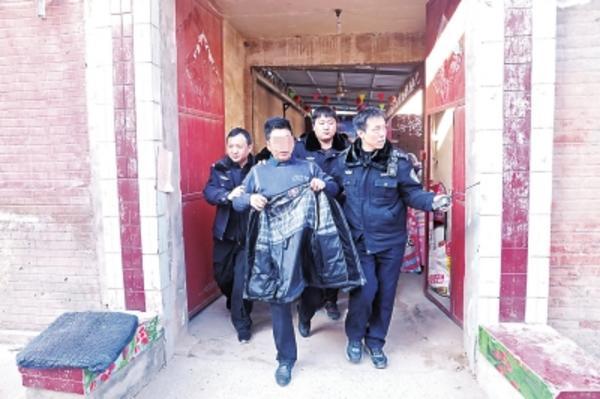 """安阳县法院正月初八逮22名""""老赖"""" 躲过了初一"""