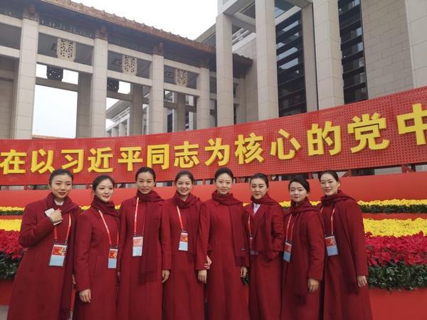 """河南""""八朵金花""""走进国博 每天为5万名观众讲解改革巨变"""