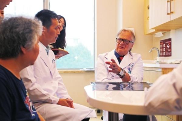 河南省全职引进的第一个外国专家尤哈将在省人民医院长期坐诊