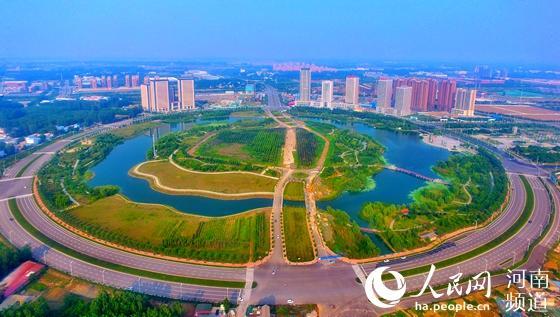 """河南许昌:千年古都的绿色""""蝶变"""""""