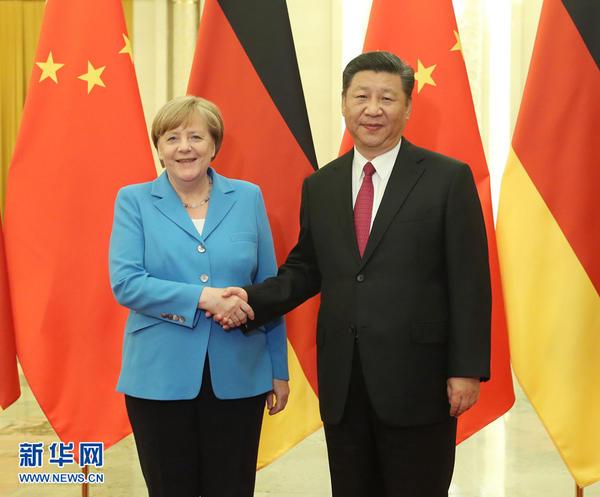 最新电子游戏:习近平与德国总理默克尔举行会晤
