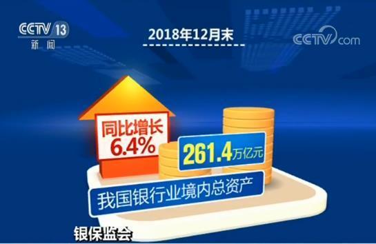 银保监会:去年向实体经济发放贷款创新高