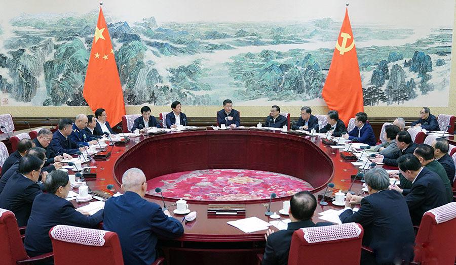 中共中央政治局召开民主生活会 习近平发表重要讲话