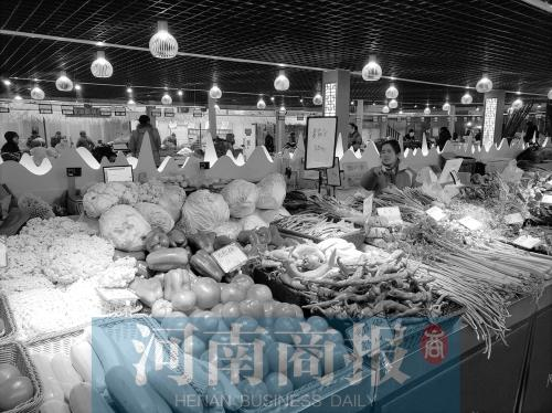 郑州已有农贸市场126家 离步行10分钟