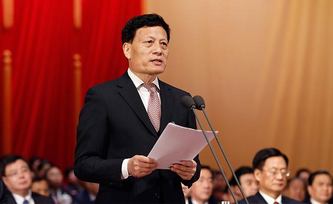 河南省十三届人大一次会议胜利闭幕