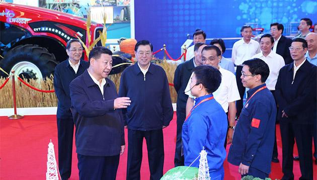 为实现中华民族伟大复兴的中国梦继续奋斗