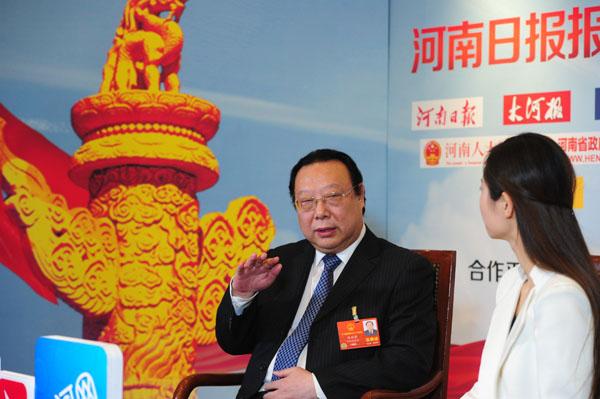 赵国祥:建设高水平教师队伍 服务人才强省战略