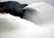 济源:黄河小浪底开启洪水调度运用模式