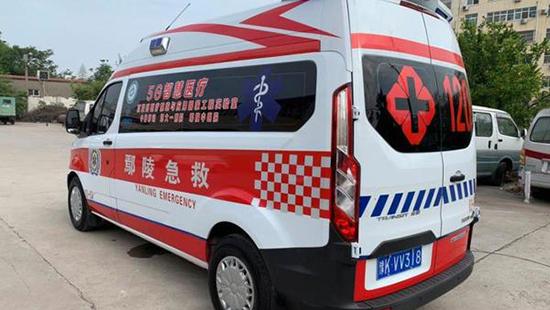 5G救护车亮相上海通信展