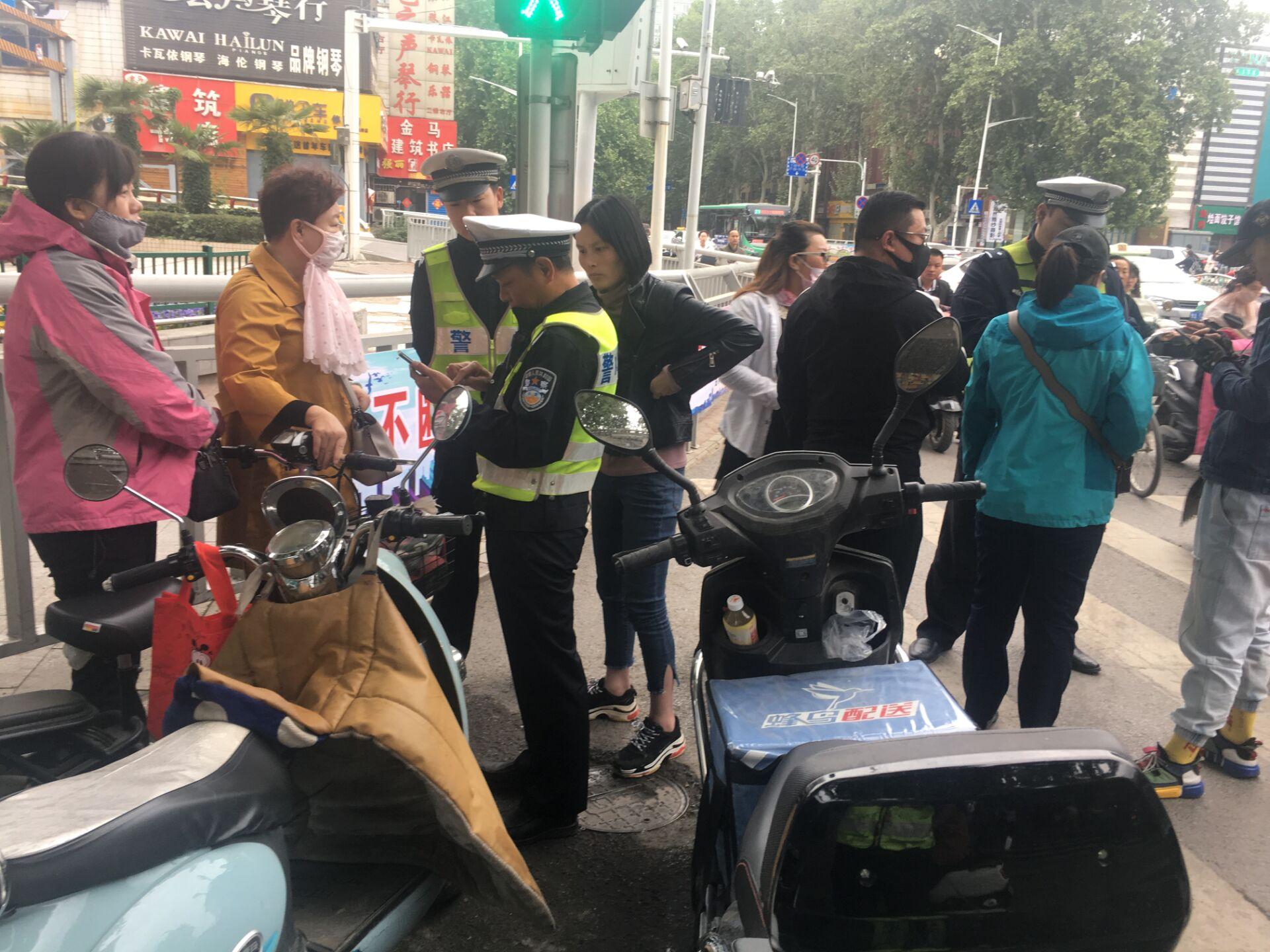 郑州将严查行人、非机动车违法,个人违法还将