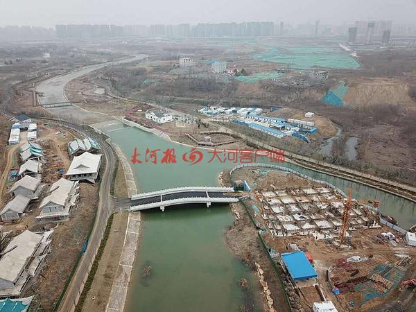 賈魯河工程復工 上游將打造賈魯小鎮、兒童樂園、沙灘、會議中心