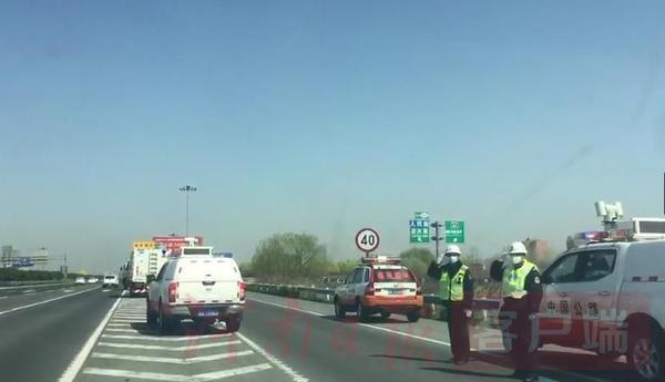 """河南高速以""""最高禮遇""""保障北京援鄂醫療隊返程過境"""