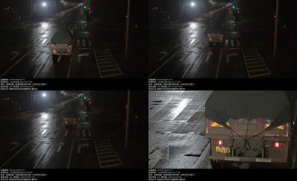 「闯红灯」这些重型车辆闯红灯被郑州交警曝光