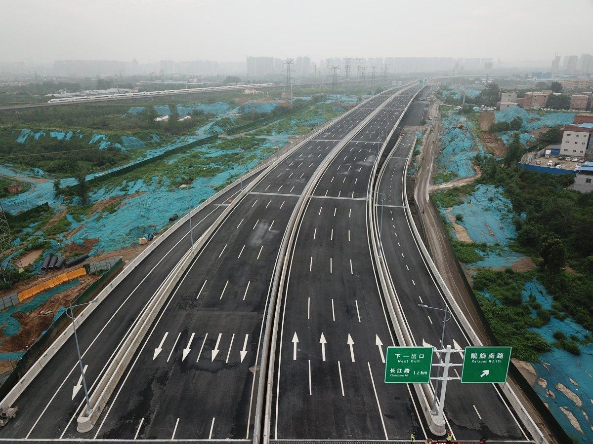 """郑州将迎来""""大四环""""快时代!明日又有71.9公里试"""