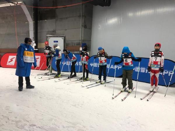 """""""滑向2022""""三北奥雪越野滑雪系列赛在吉林举办"""