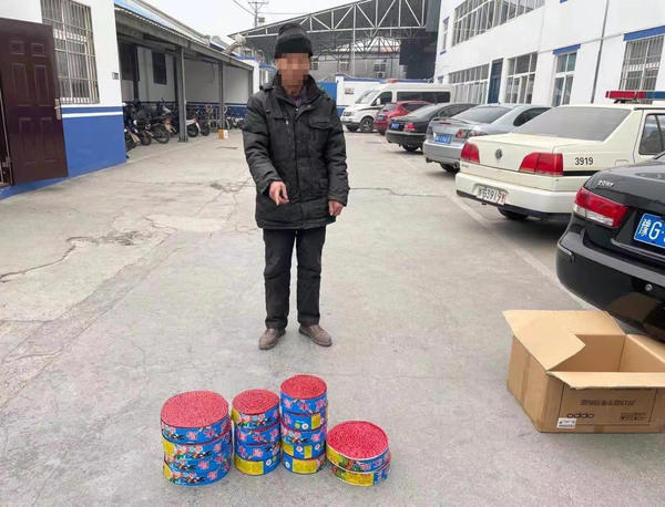 新乡俩超市负责人因非法储存销售烟花爆竹被拘留