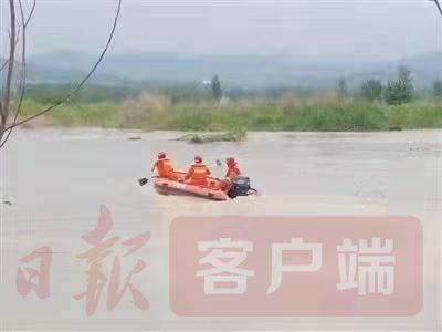 河水暴涨困渔友 豫鄂联手齐救援