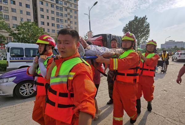 延长气田在豫6天搜救转移群众87人 排水2万余方